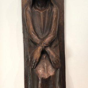 Ernst Barlach: Die gefesselte Hexe, 1926, Bronze (Guss von 1978–1979), Foto: Petra Lange-Berndt