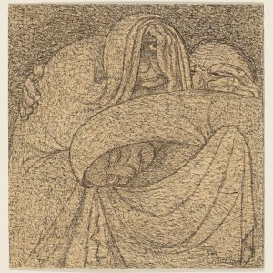 Ernst Barlach: Drei Hexen, 1907–1908