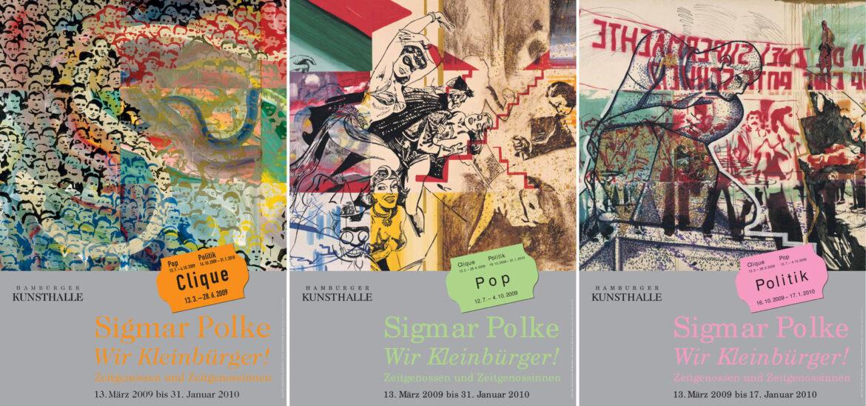 Sigmar Polke: Wir Kleinbürger! Zeitgenossen und Zeitgenossinnen