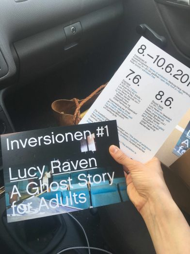 Inversionen #1, Lucy Raven: A Ghost Story for Adults
