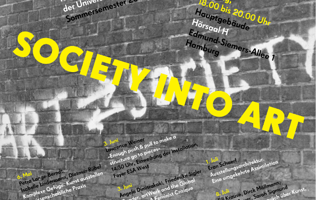 Society into Art. Practices of Curating