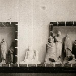 Blick in das Atelier Ernst Barlachs, 1930er Jahre