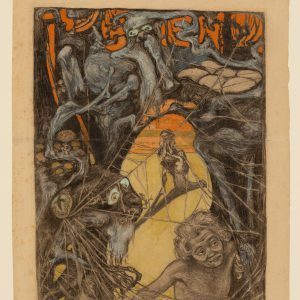 Ernst Barlach: Im Zauberwald, 1899