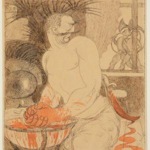 Ernst Barlach: Marokko-Lärm, 1906