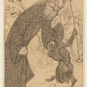 Ernst Barlach: Auf der großen Redoute, 1906